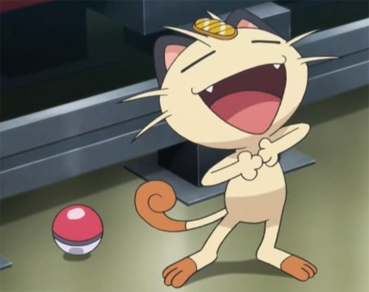Meowth Pokémon Anime Screenshot