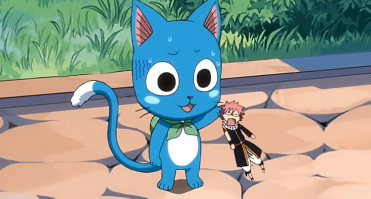 Happy Fairy Tail Anime Screenshot