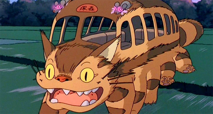 Nekobasu My Neighbor Totoro - Cat Anime Screenshot