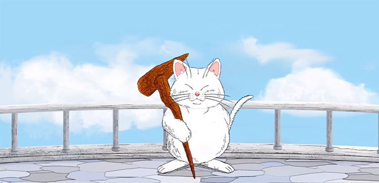 Korin Dragon Ball Cat Anime Screenshot