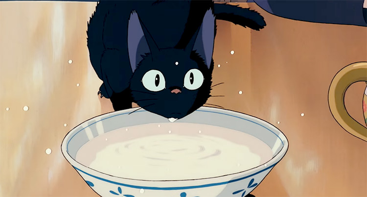 Jiji in Kiki's Delivery Service Anime Screenshot