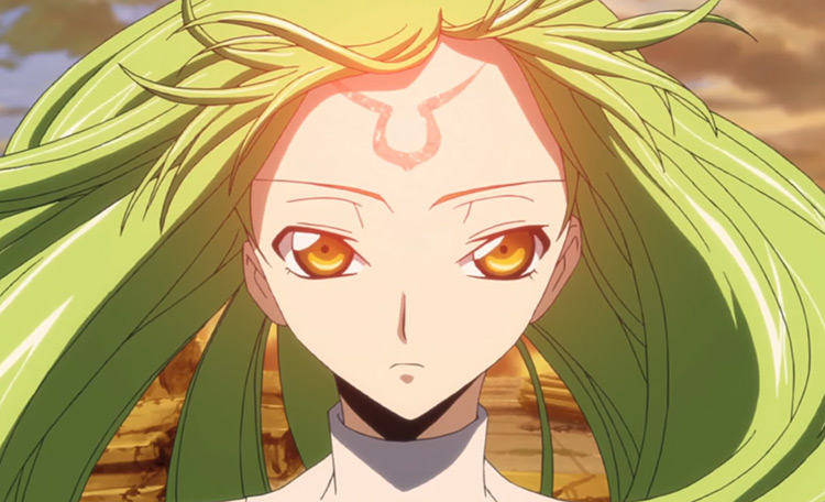 C.C. - Code Geass Anime Screenshot