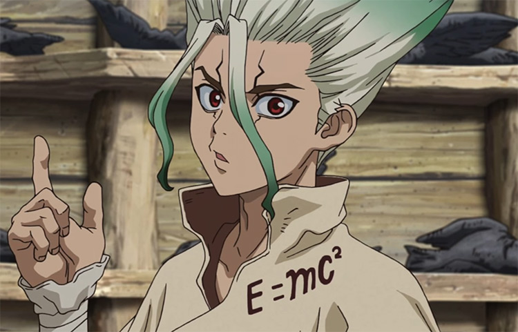 Senku Ishigami - Dr. Stone Anime Screenshot