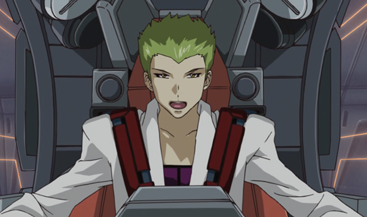 Sting Oakley - Mobile Suit Gundam SEED Destiny Anime Screenshot