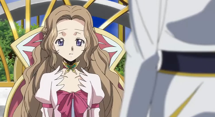 Nunnally vi Britannia - Code Geass Anime Screenshot