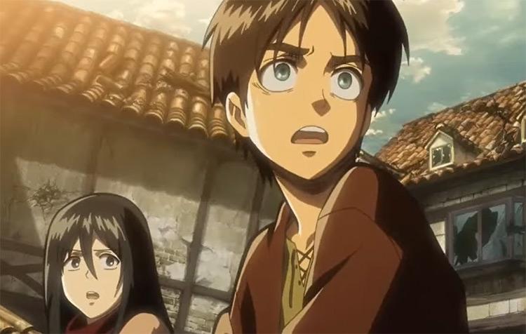 Shingeki no Kyojin Shounen Anime Screenshot