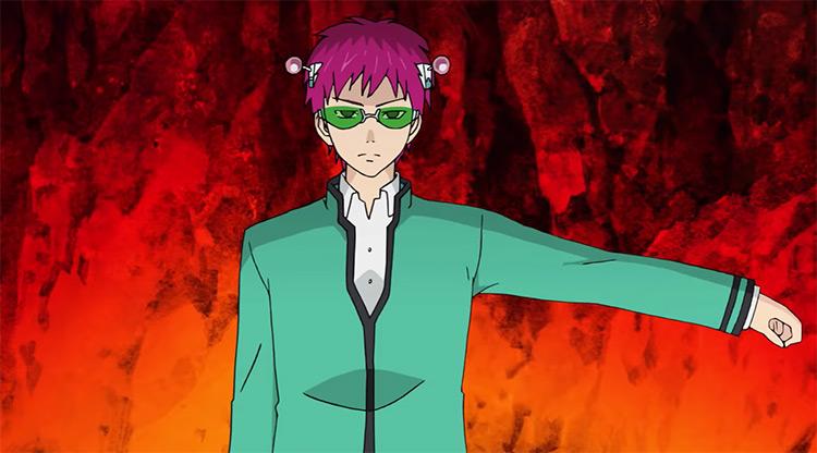 The Disastrous Life of Saiki K Shounen Anime Screenshot