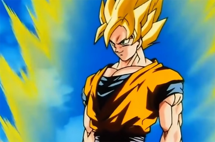 Dragon Ball Z Shounen Anime Screenshot