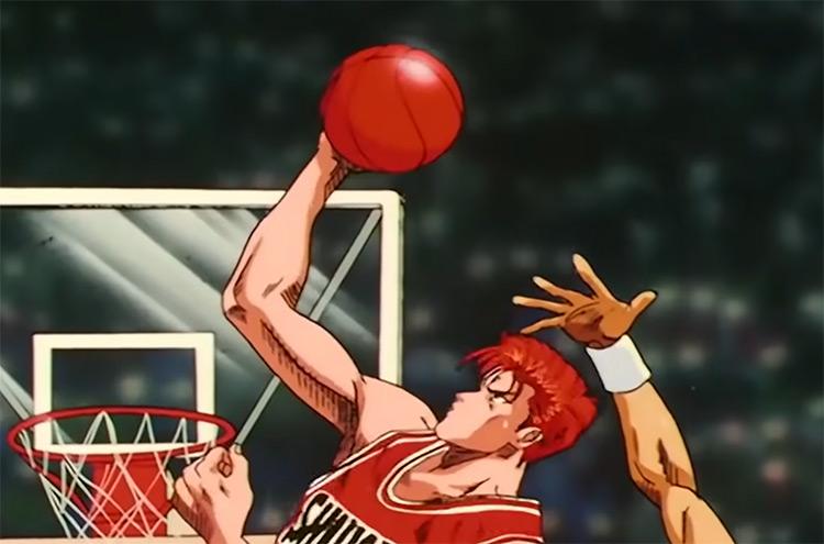 Slam Dunk Shounen Anime Screenshot