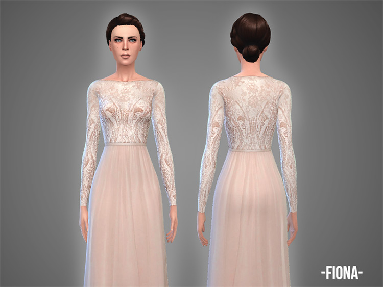 Best Sims 4 Wedding Dresses Free Cc Mods To Download Fandomspot