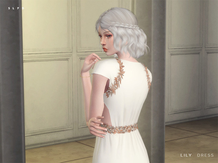 Lily Dress for Sims4