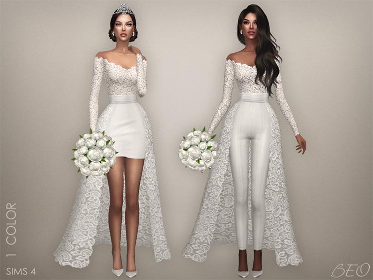 Lorena Wedding Collection CC Mod