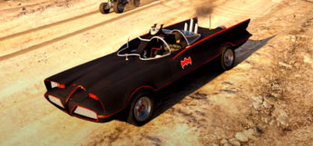 Old-School Batmobile & Batman - GTA 5 Modded