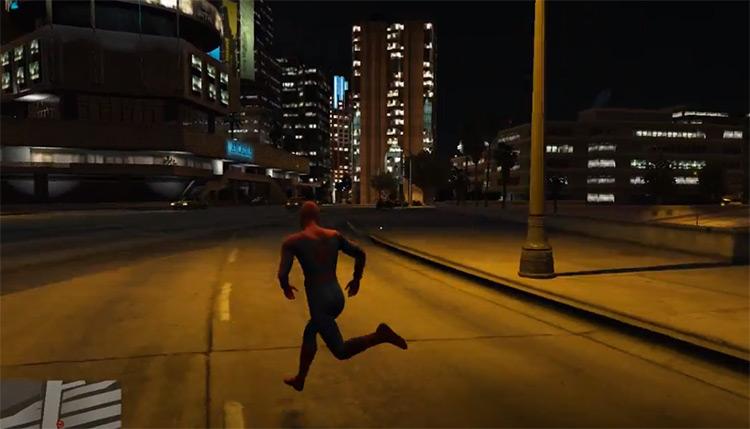 Spider-Man GTA5 mod