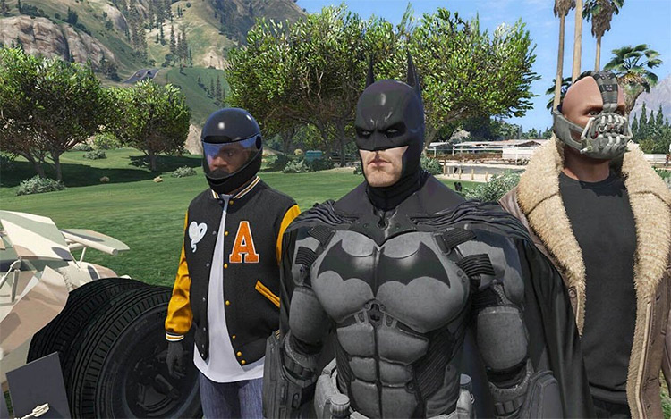 Batman Mod for GTA5