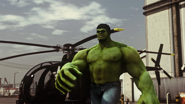 The Hulk GTA5 Mod