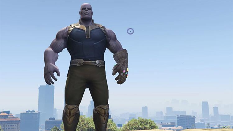 Thanos GTA5 mod