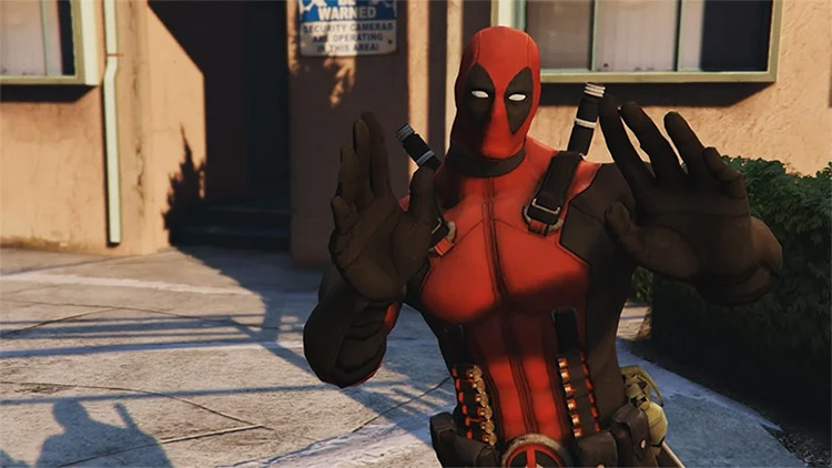 Deadpool Character Mod for GTA5