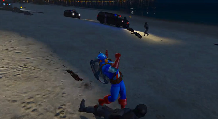 Captain America Mod for GTA5