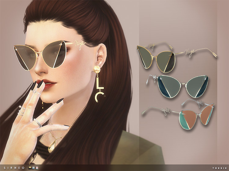 Toksik Sirheo - TS4 hip girl sunglasses CC