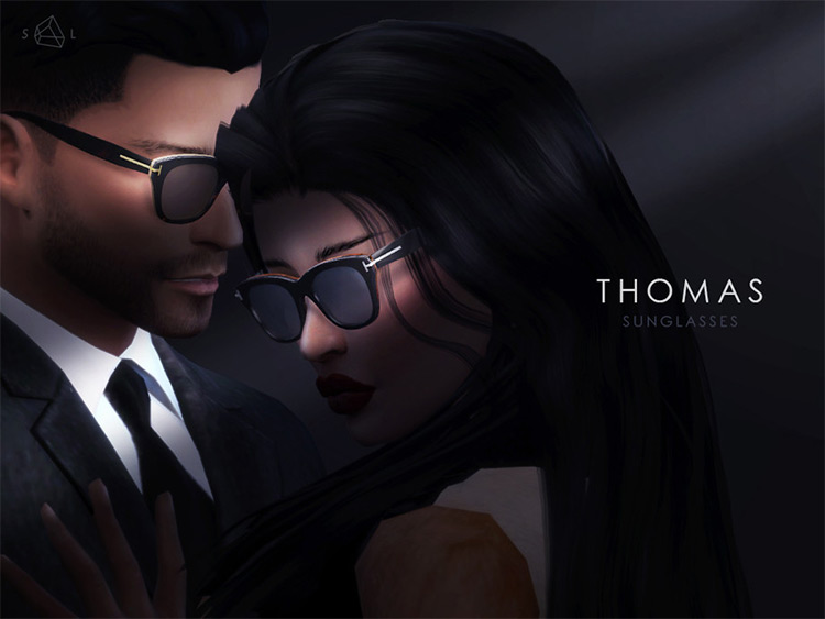 Thomas Sunglasses - dark design CC