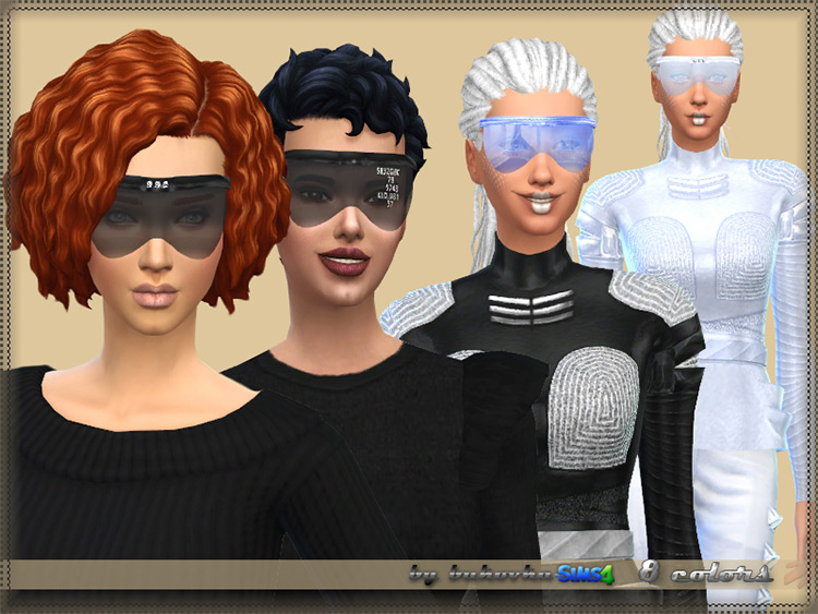 Future-themed Sunglasses CC - TS4