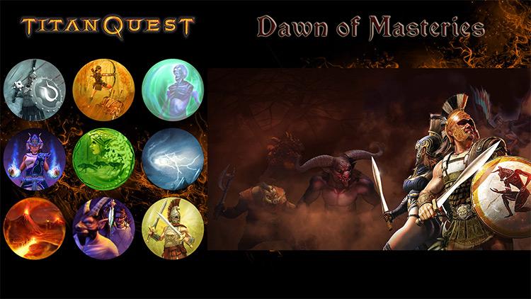 Dawn of Masteries Mod for Grim Dawn