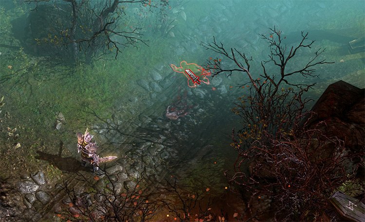 Larger Cursors in Grim Dawn screenshot