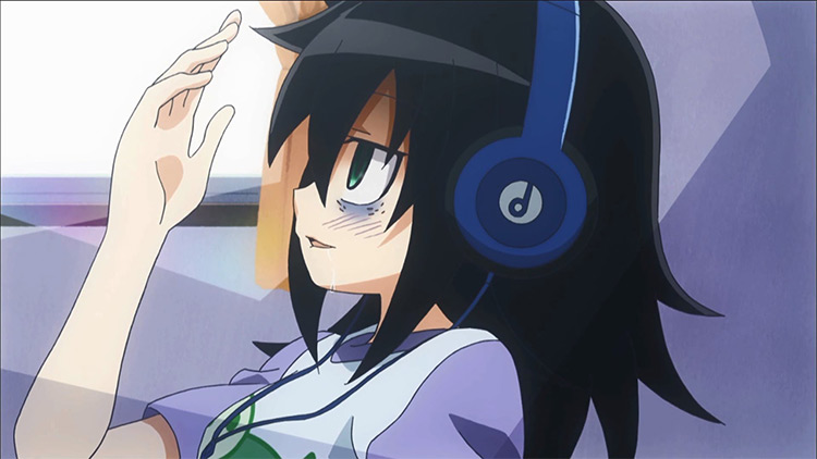 Tomoko Kuroki in WataMote Anime