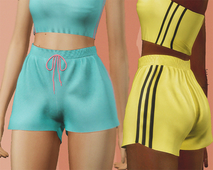 Jogging Shorts for Sims4 CC