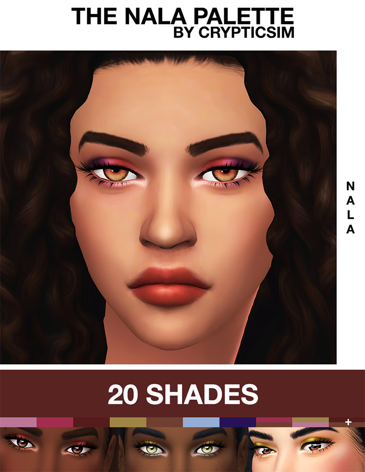 The Nala Palette CC Pack for Sims 4