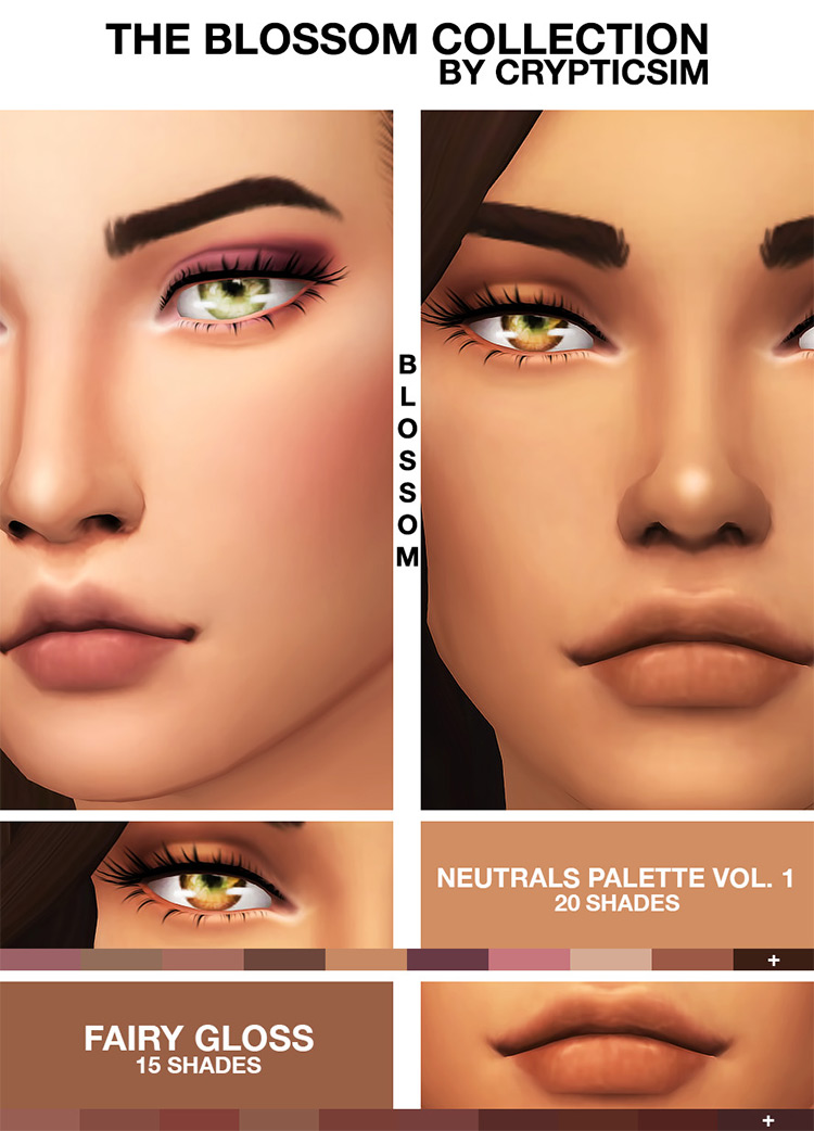 The Blossom Collection CC Pack from Sims 4