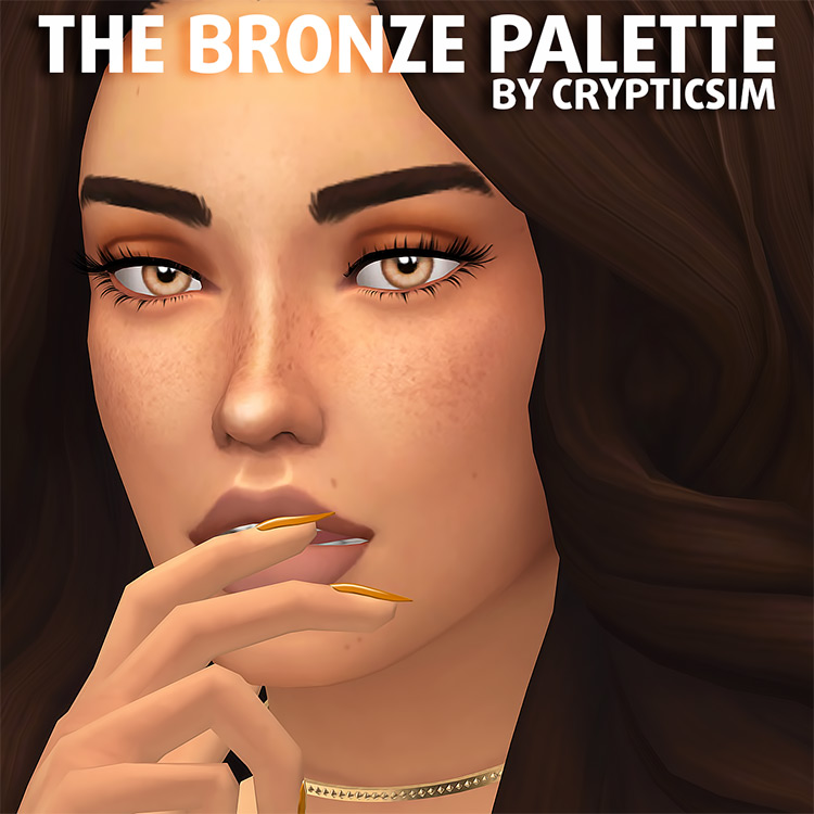 The Bronze Palette Sims 4 CC Pack