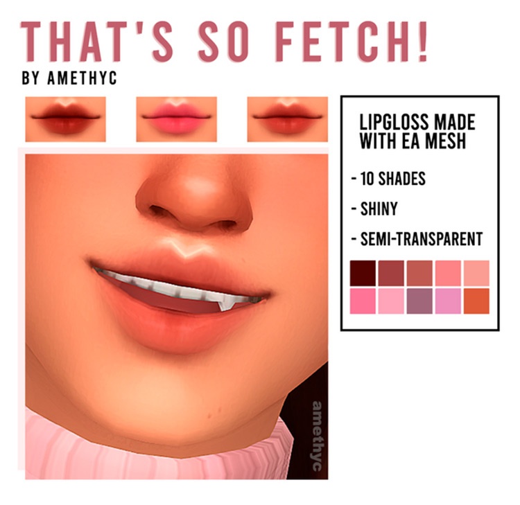 That's So Fetch! CC Pack for Sims 4