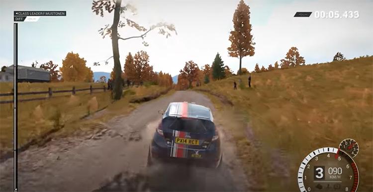 DiRT 4 racing game screenshot