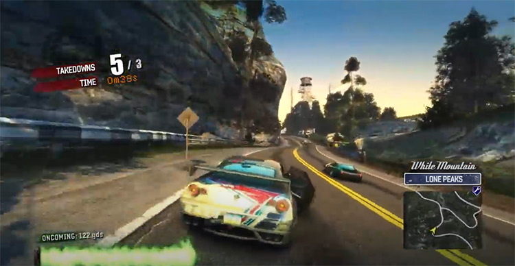 Burnout Paradise (Remastered) gameplay