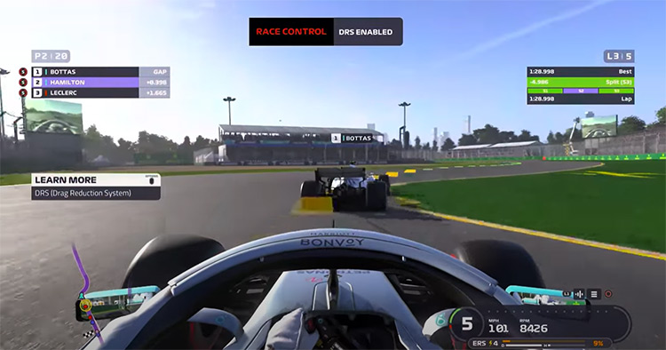 F1 2019 gameplay screenshot