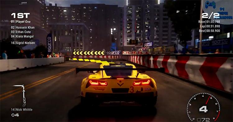 GRID PS4 game screenshot