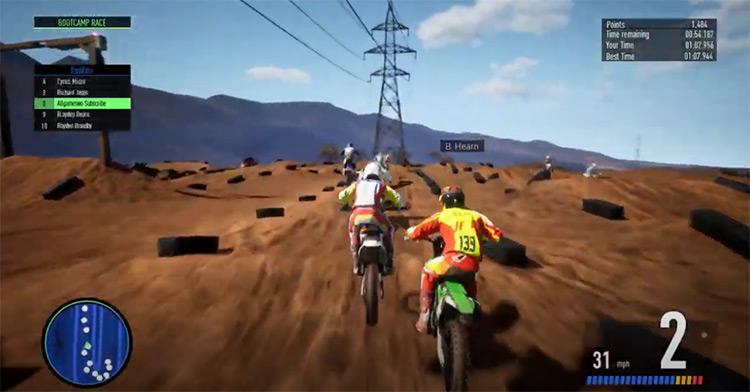 Monster Energy Supercross screenshot