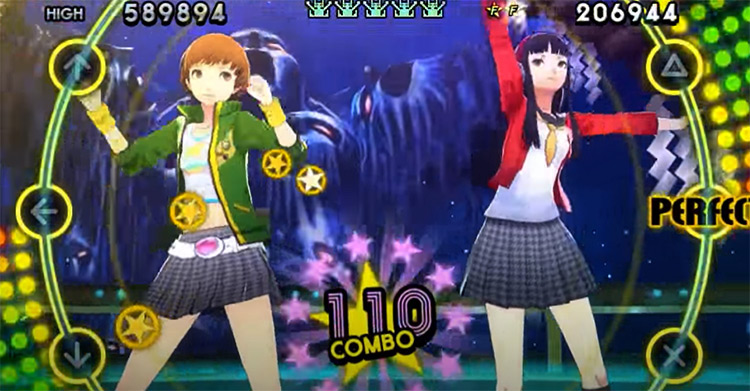 Persona 4: Dancing All Night gameplay