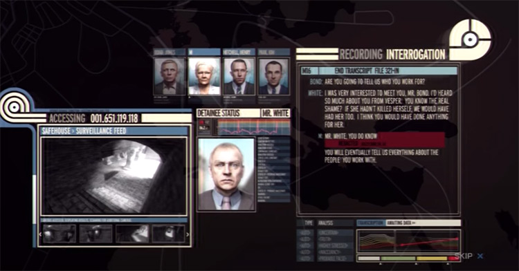 007: Quantum of Solace game screenshot