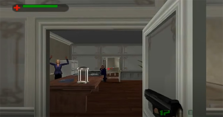 The World is Not Enough James Bond game