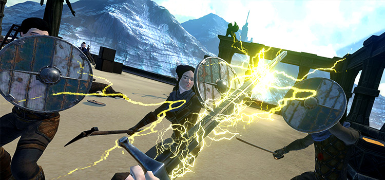 Mythical Weapons pack for Blade & Sorcery - Screenshot Demo