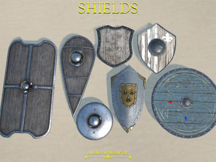 Medieval Megapack Blade & Sorcery mod