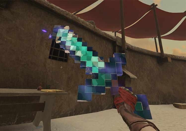 Mine and Sorcery mod for Blade & Sorcery