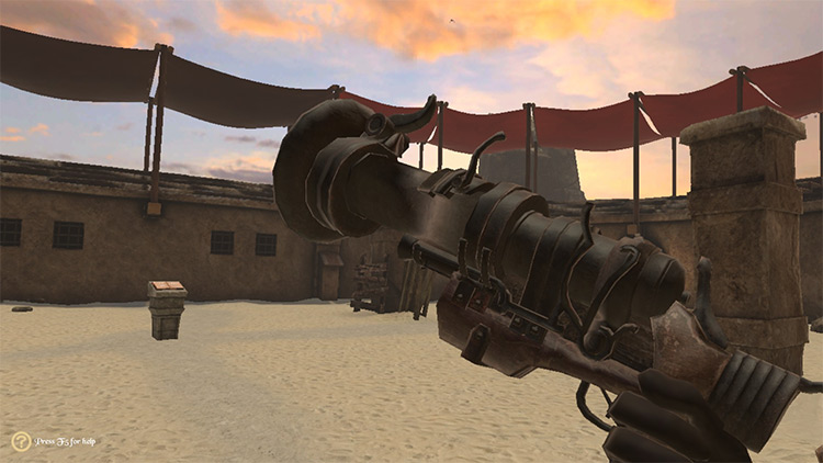Bloodborne Firearms mod for Blade & Sorcery
