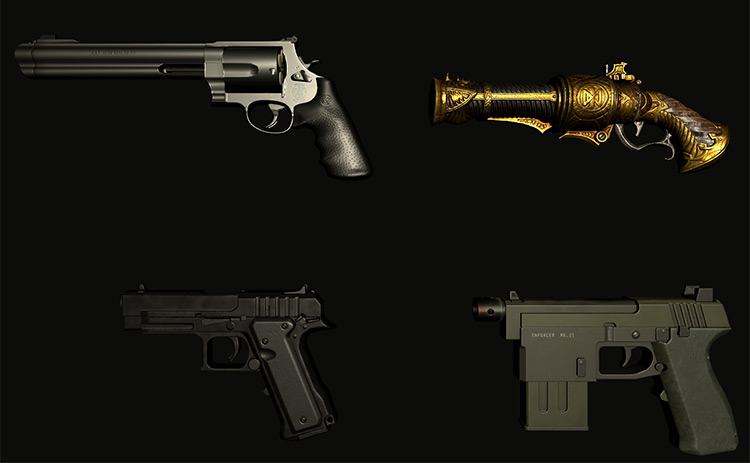 Fisher's Pistols Pack mod for Blade & Sorcery