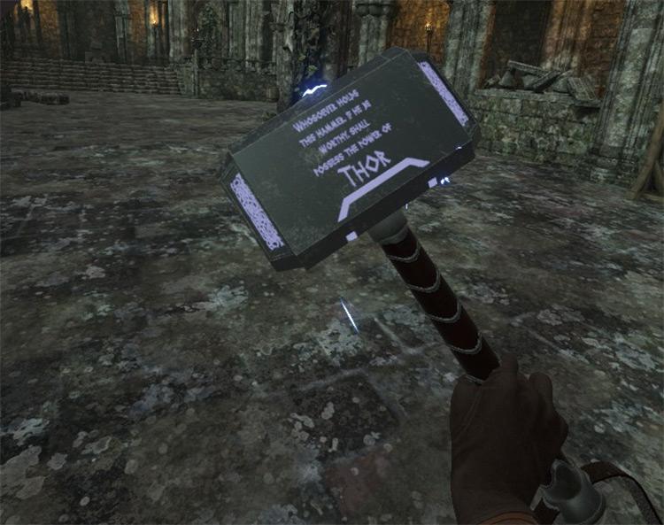 Mjolnir mod for Blade & Sorcery