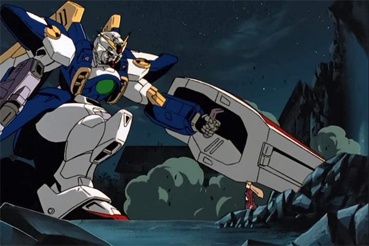 Mobile Suit Gundam Wing anime
