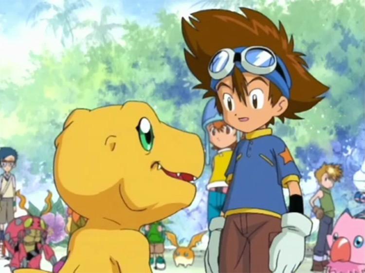 Digimon anime screenshot